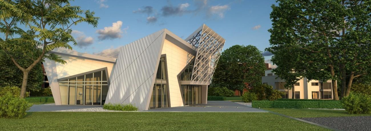 Maison en ossature bois à faible consommation d'énergie