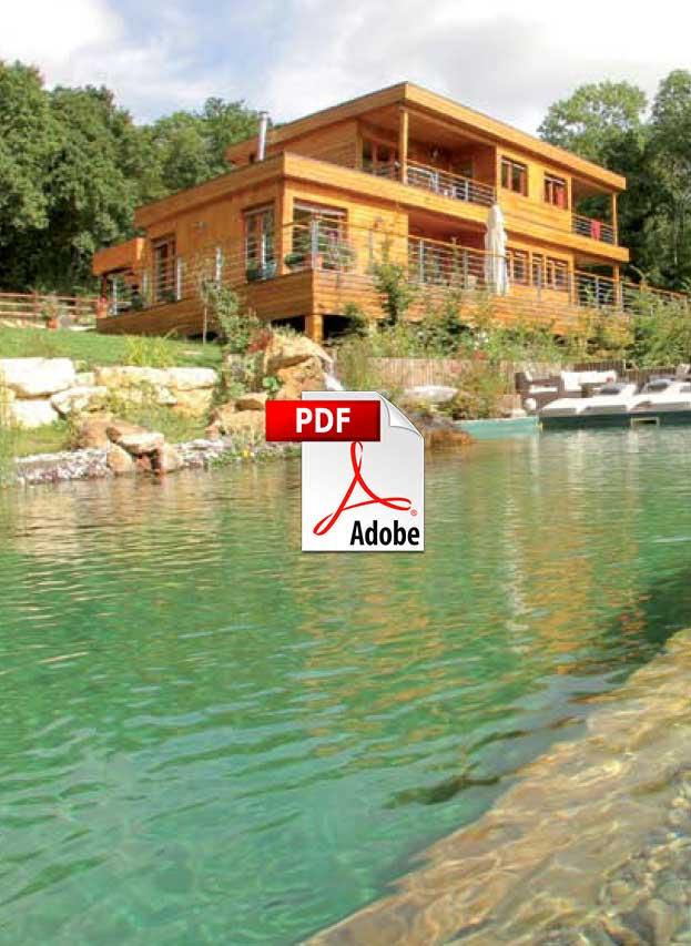 La piscine cologique eco maison bois for Piscine ecologique