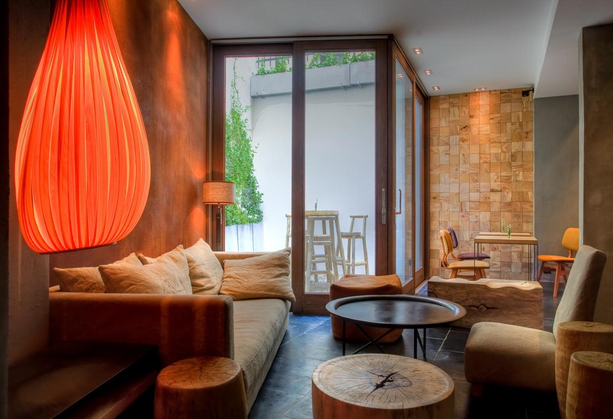 Alliance du design et de l'artisanat pour cet hotel quatre etoile
