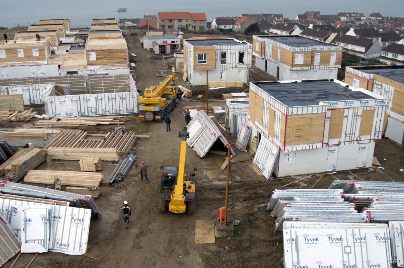 24 maisons à ossature bois au Portel