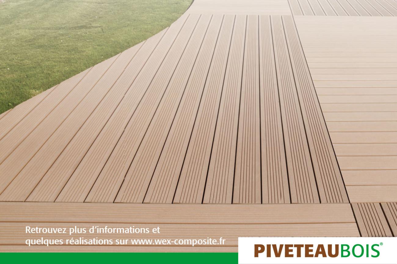 Du bois compsite pour terrasse, parquet ou rebord de piscine...
