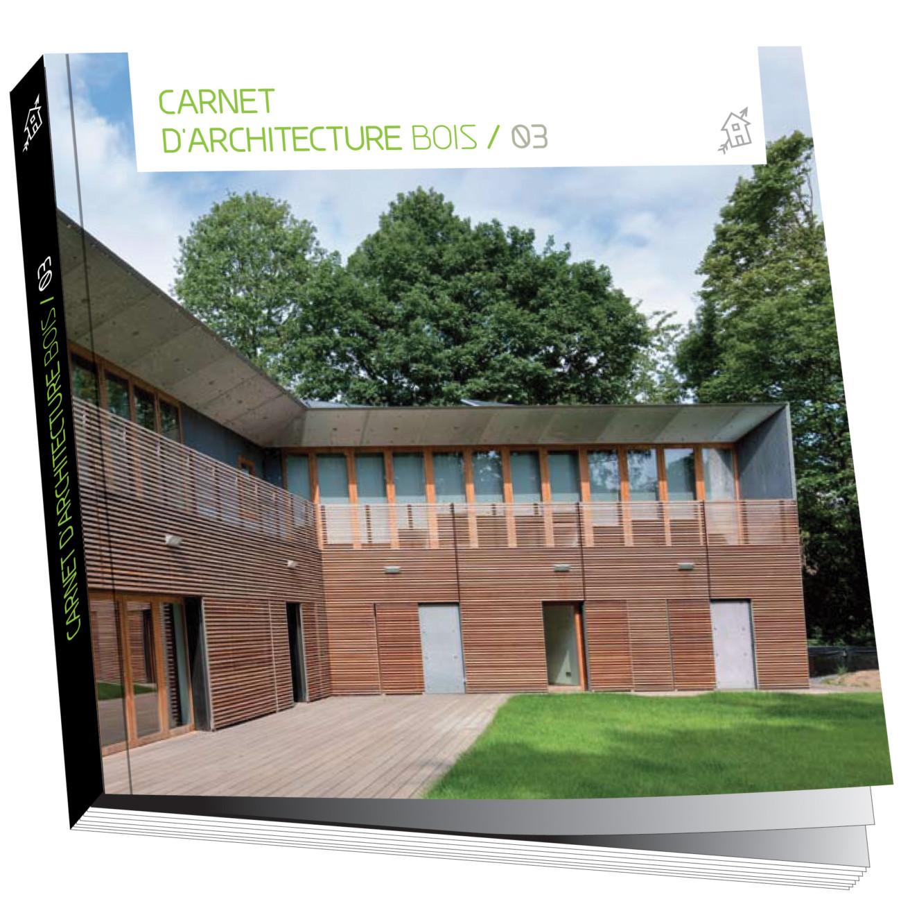 Un livre sur l'architecture bois contemporaine