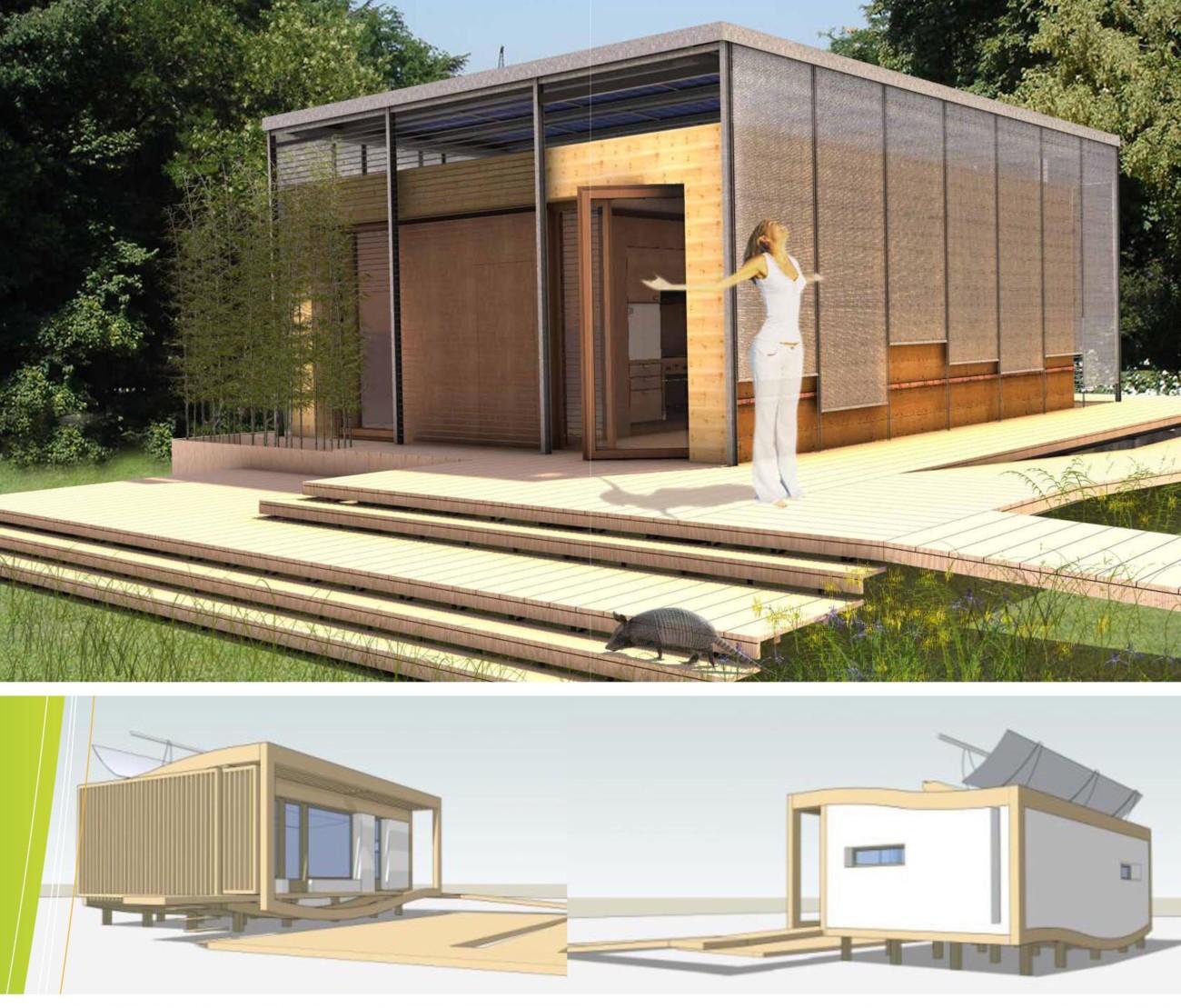 Deux projets d'architecture solaire français bien placés au Solar Decathlon