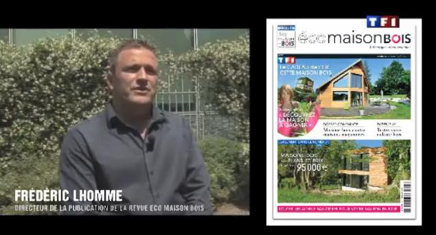 Reportage sur TF1 : ma maison pour l'avenir