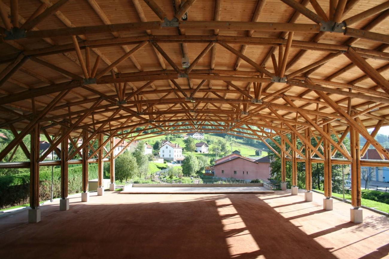 Le développement de la filière bois locale dans les Vosges