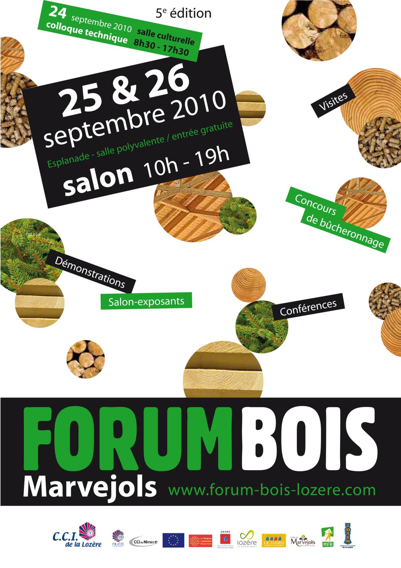 forum des métiers du bois