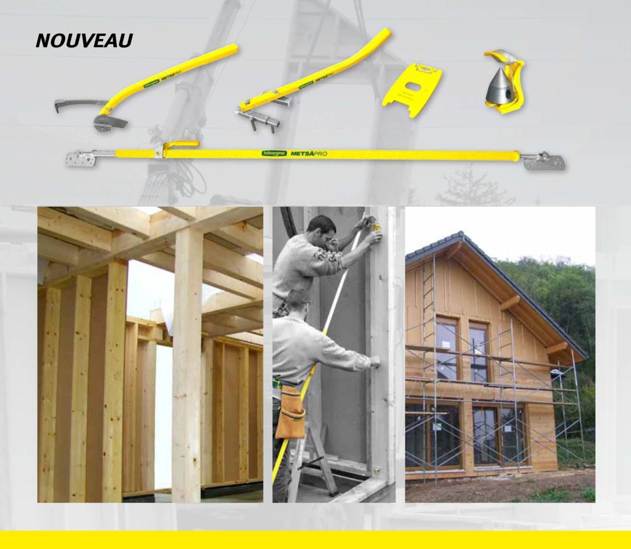 Des outils pour le montage des maisons ossature bois