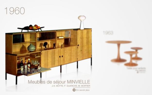 Musée virtuel du mobilier Roche Bobois