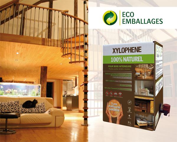 Produit écologique de protection des bois