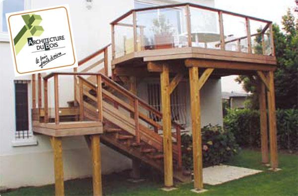 Garde corps pour terrasse extérieures