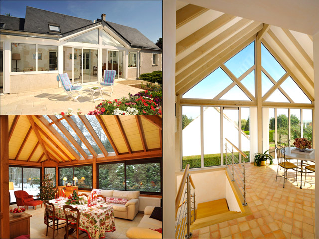 Des vérandas en bois pour l'extension de votre maison