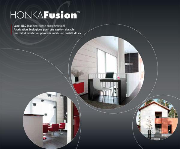 Nouvelle ampagne de publicité pour le constructeur Honka