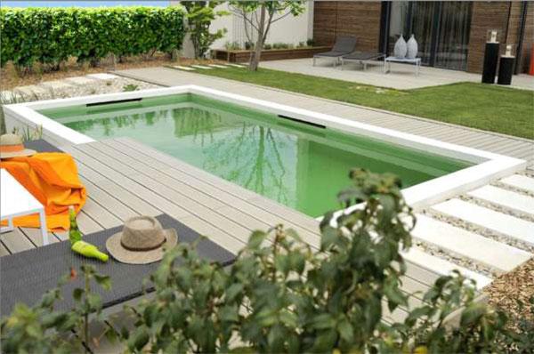 Le bois composite pour des terrasses de piscine