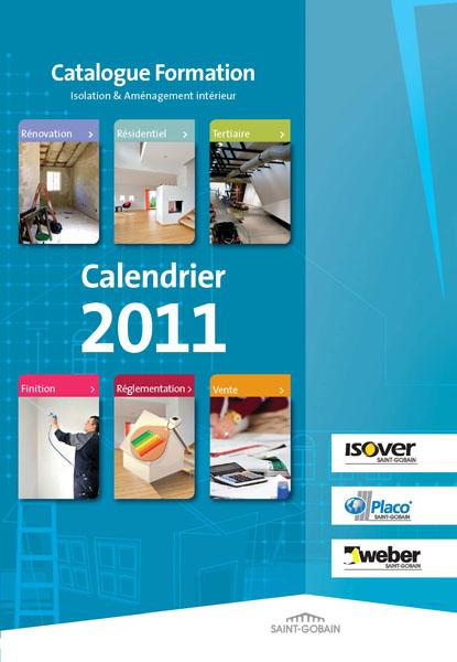 Catalogue des formations en isolation et aménagement intérieur