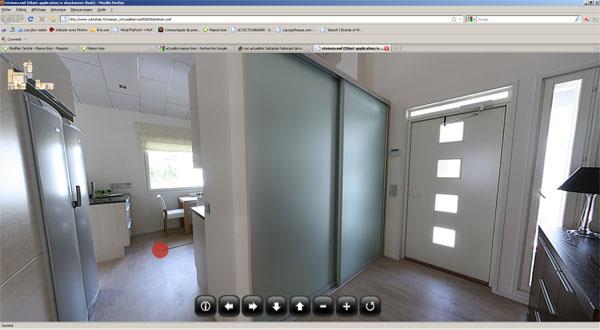 Visite virtuelle d'une maison bois
