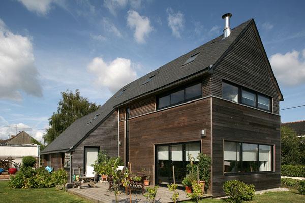 Maison à ossature bois BBC
