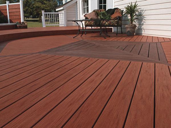 Terrasse - lames en bois composite