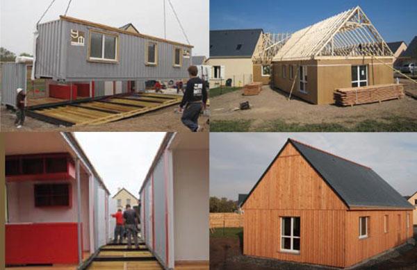 Des maisons bois
