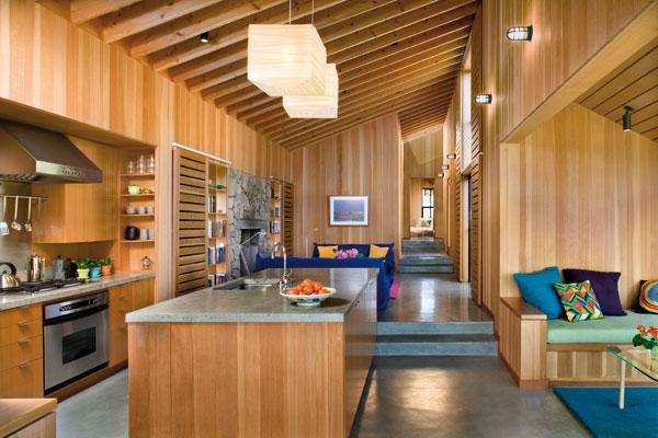 Maison secondaire américaine en bois