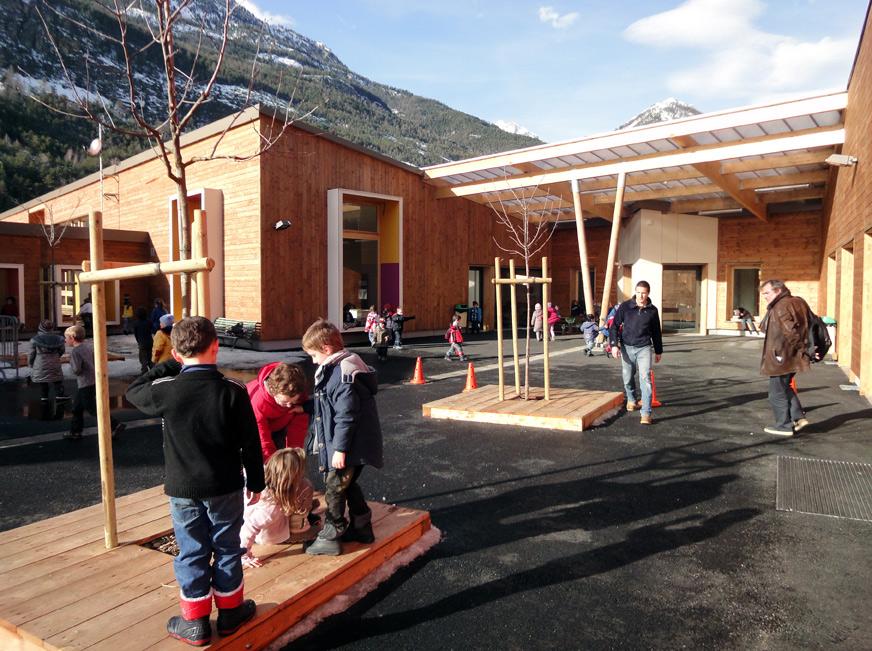 Un centre socio culturel lauréat du concours de la construction bois