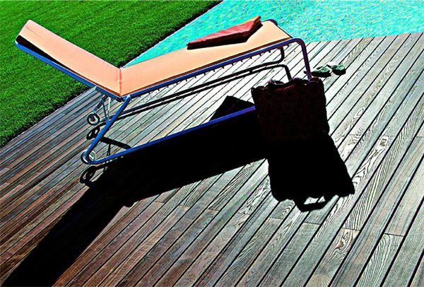 Des lames bois en frênes pour votre terrasse