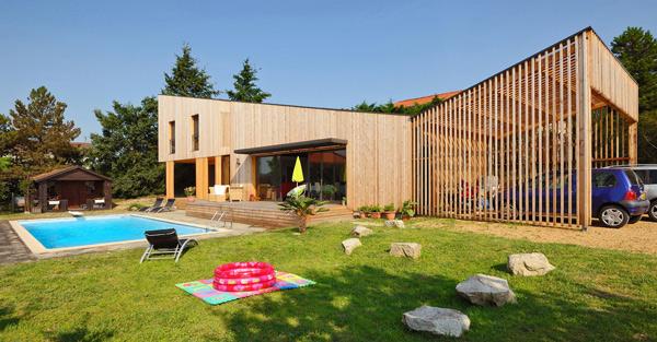 Une maison à ossature bois lauréate de la construction bois