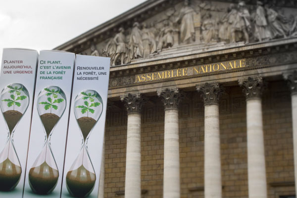 La forêt française à l'assemblé nationale