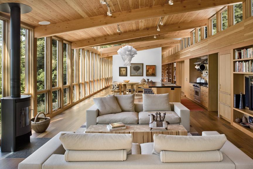 maison modulaire à ossature bois