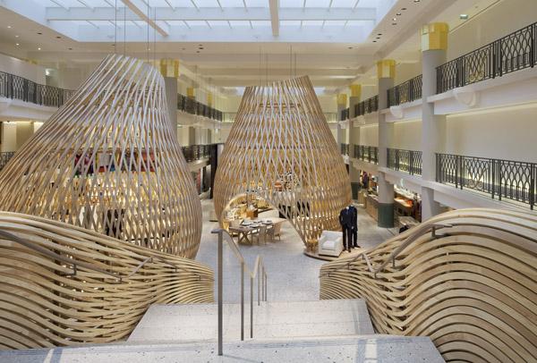 Prix Wan - des constructions hermes en bois dans une piscine