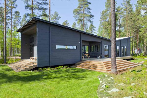 Lauréat du prix de la maison en bois massif