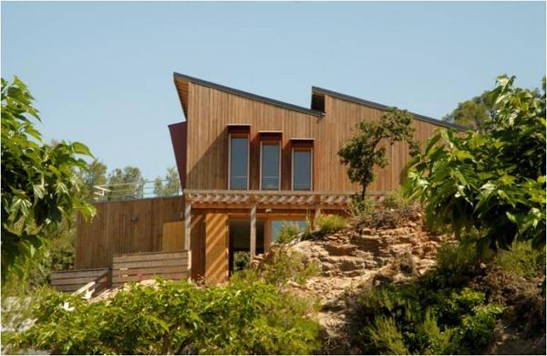 maison bois paca