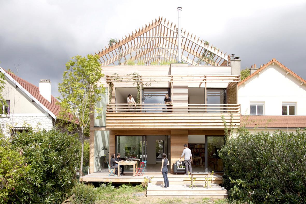 Lauréat de la construction bois 2012