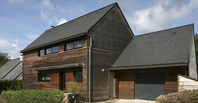 Maison bretonne en ossature bois