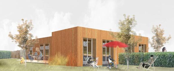 Des maisons positives à architecture différentes