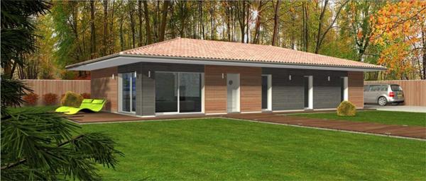 Nouelle gamme de maison pour le constructeur Maisons Bois Clairelande
