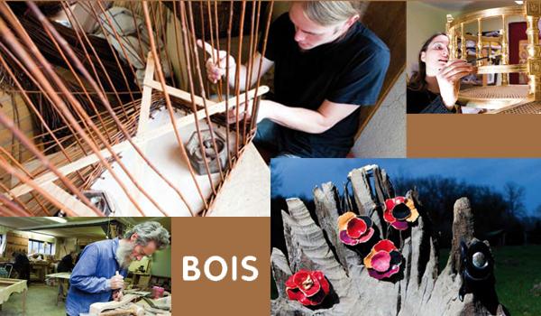 Guide des métiers d'art du bois