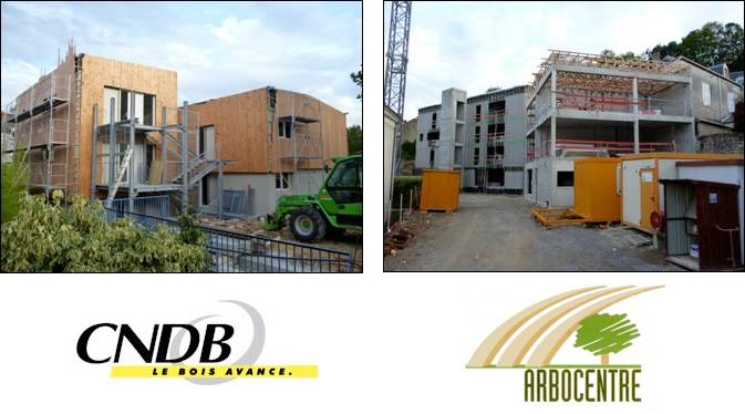Constructions mixtes bois et béton
