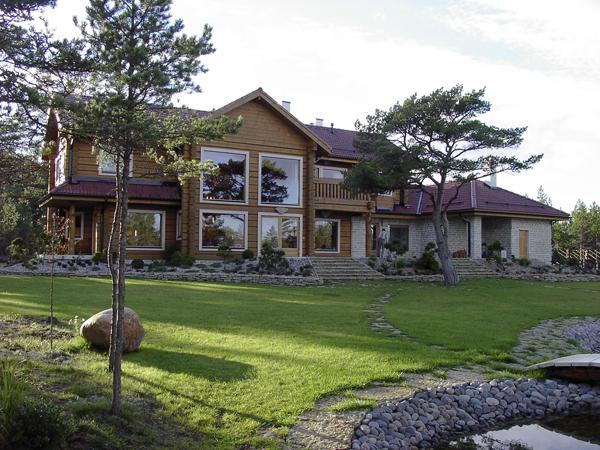 Maisons madrier en pin massif Hobbiton
