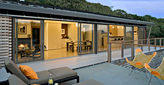 une maison design et écologique