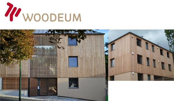 1er immeuble français entiièrement en bois massif tourillonné
