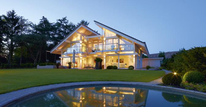 Une nouvelle réalisation Huf Haus : ouverture et respect de la nature environnante