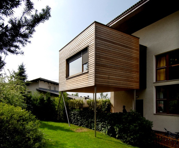 Extension maison bois