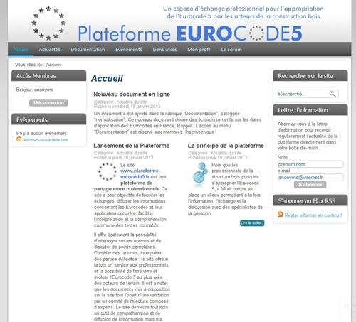 Plateforme Virtuelle Eurocode5