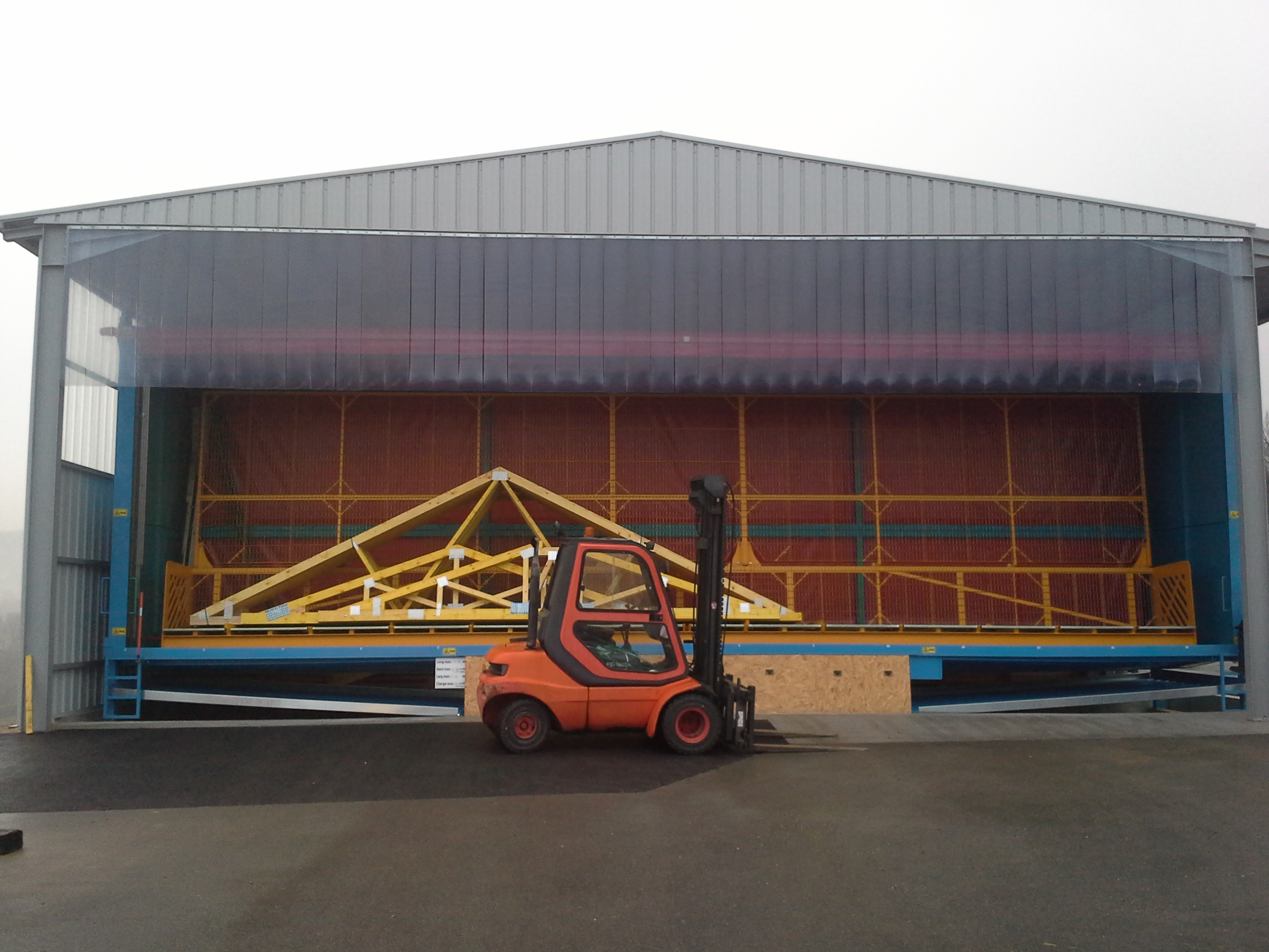 Nouvelle cabine d'A2C