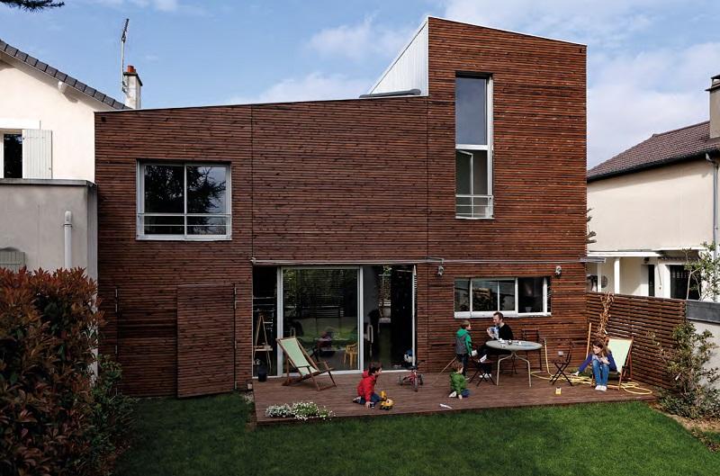 Rénovation bois d'une maison parisienne