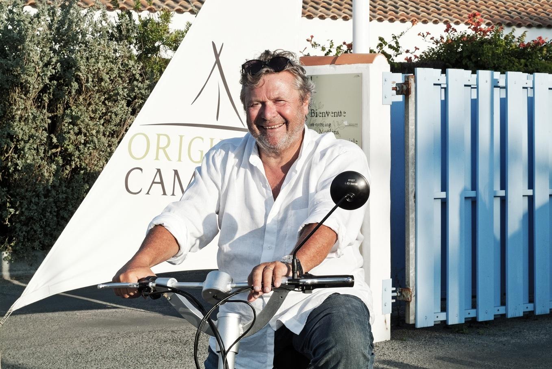Alain Dominique Perrin et son nouveau concept : Original Camping