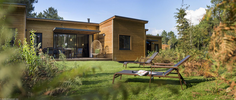 Cottage en bois de Center Park