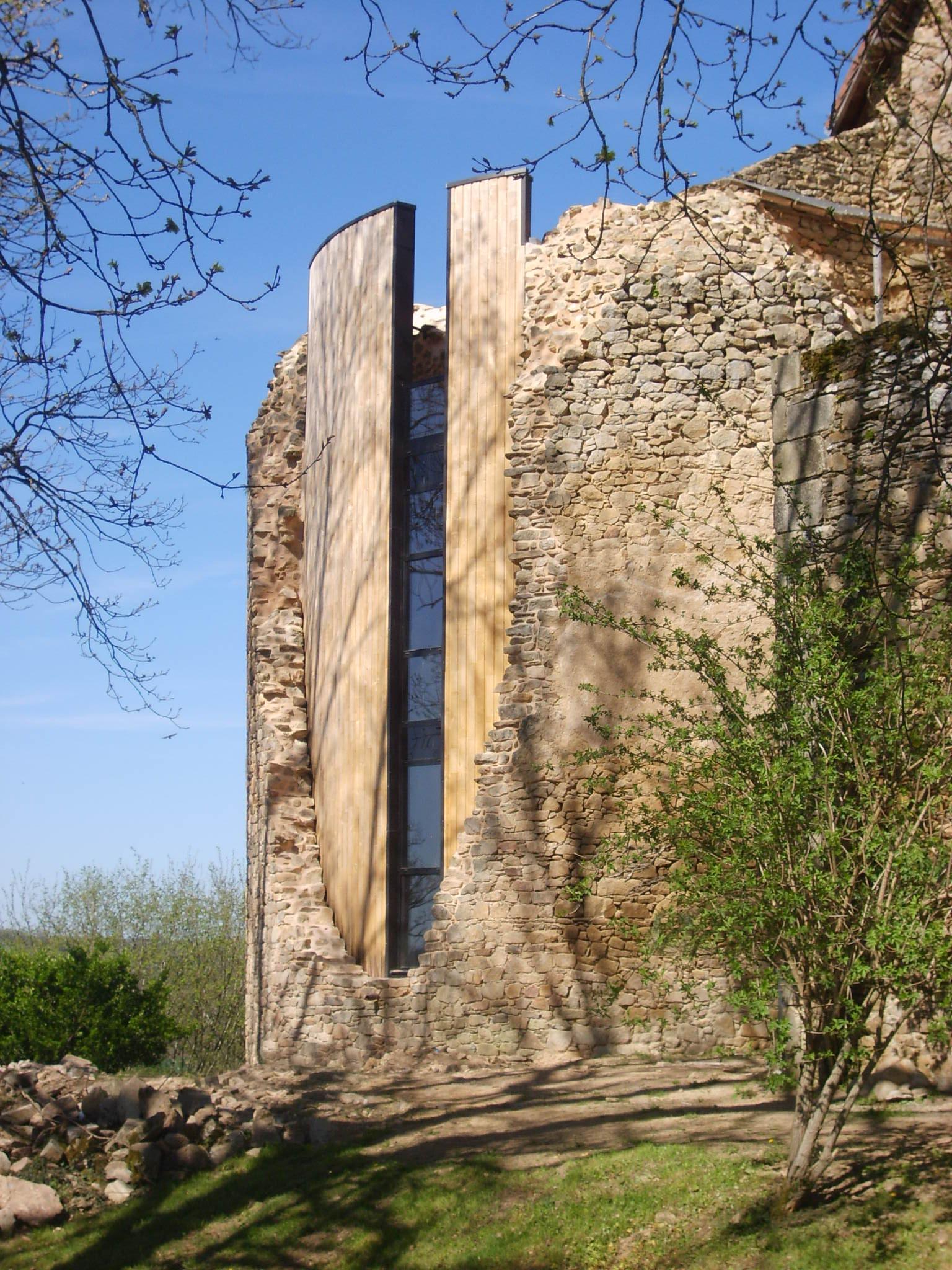 1e prix de la catégorie « Réhabilitation, rénovations » :RENOVATION DU «VIEUX CHÂTEAU» à Vicq-Sur-Breuilh (87)