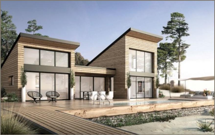Le modèle Biarritz par Maison Eco Nature