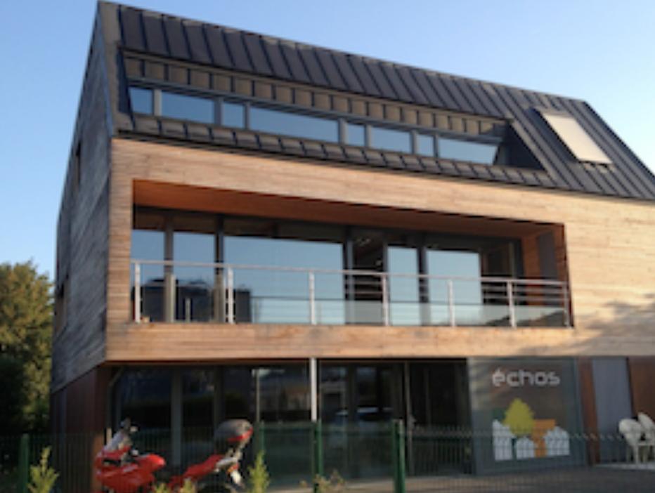 Prix « Equipements publics et Bâtiments tertiares » : Bureaux Passifs - Déville-lès-Rouen, Architecte : Laurent Protois Architecte